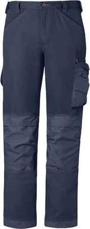 Hultafors (Snickers) Bundhose Canvas Plus Gr.50 navy 33149595050