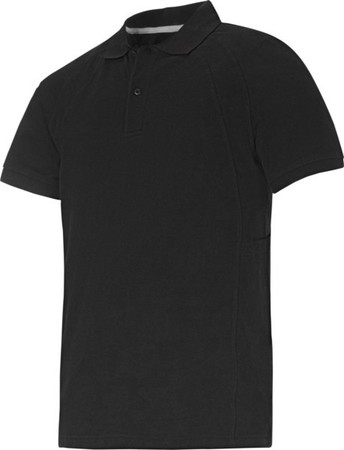 Hultafors (Snickers) Classic Poloshirt schwarz, Gr.L 27100400006