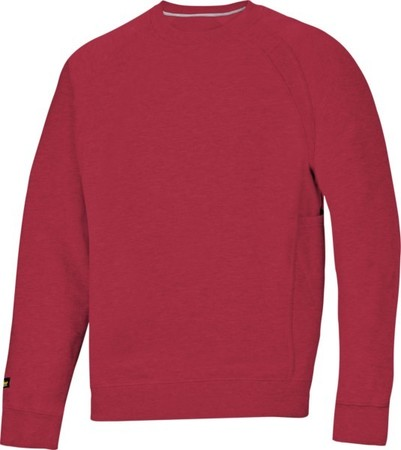 Hultafors (Snickers) Heavy Sweatshirt chili, Gr.L 28121600006