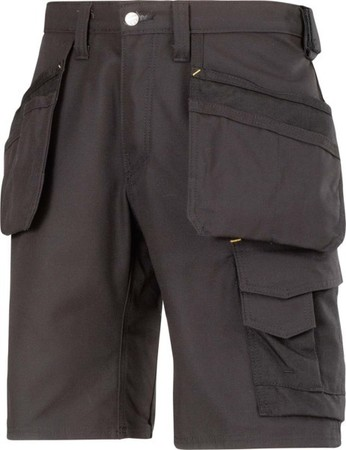 Hultafors (Snickers) Canvas+ Shorts schwarz, Gr.44 30140404044