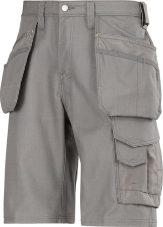 Hultafors (Snickers) Canvas+ Shorts grau, Gr.46 30141818046
