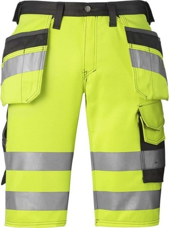 Hultafors (Snickers) High Vis Shorts Kl.1, ge, Gr.62 30336674062