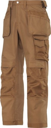 Hultafors (Snickers) Canvas+ Hose braun, Gr.154 32141212154