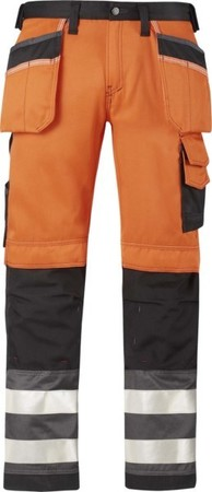 Hultafors (Snickers) High-Vis Hose Kl.2, or, Gr.256 32335574256