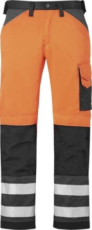 Hultafors (Snickers) High-Vis Hose Kl.2, or, Gr.158 33335574158
