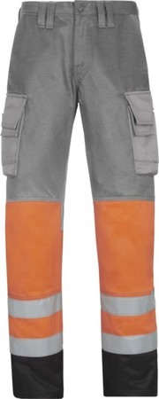 Hultafors (Snickers) High Vis Bundhose Kl.1, or, Gr.184 38337455