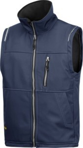 Hultafors (Snickers) Soft Shell Weste Gr. XXL, navy 45119500008
