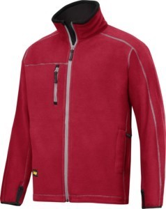 Hultafors (Snickers) A.I.S. Fleece Jacke Gr. S, chili 8012160000