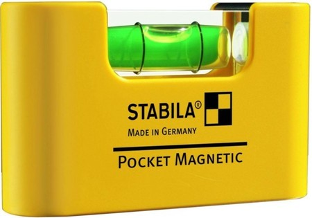 Stabila Mini-Wasserwaage Pocket Magnet.#17774
