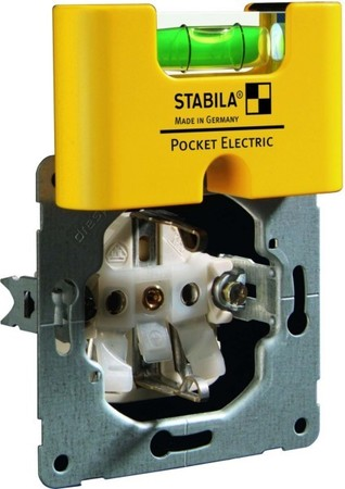 Stabila Mini-Wasserwaage Pocket Electric