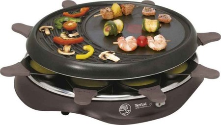 Tefal Raclette SIMPLY INVENTS 8 RE 5160 cherry black