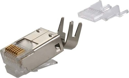 Telegärtner RJ45-Stecker Cat.6 geschirmt 8-pol. J00026A0165X
