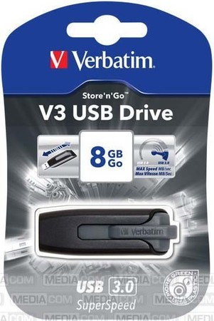Verbatim USB-Stick 3.0 8GB Ultra Speed 267x 15-020-242