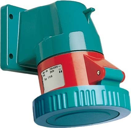 Walther Werke CEPro Anbaudose 32A 5P 110V 4h IP67 10Sk 7538504