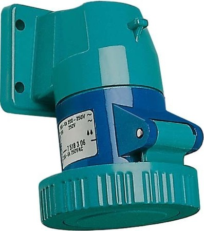 Walther Werke CEPro Anbaudose 16A 3P 110V 4h IP67 6Sk 7518304