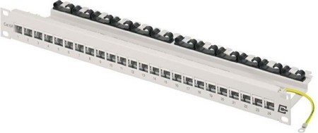 Weidmüller Patch Panel 19 Zoll, IP 20 IE-PPA19-24P-RJ45-C