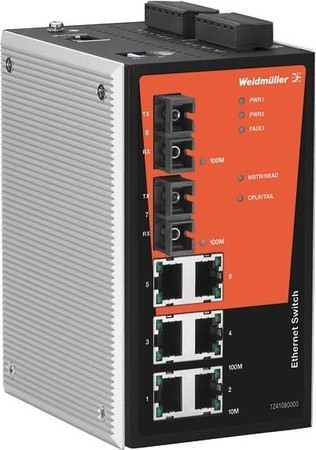 Weidmüller Managed Switch IE-SW-PL08MT-6TX-2ST