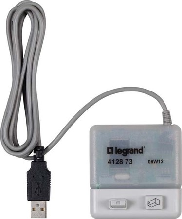 Legrand (BT) PC-Adapter und Software AlphaRex3 412873