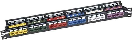 Panduit Patch-Panel CP24WSLGY