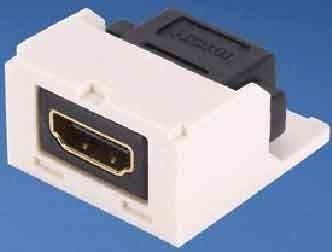 Panduit MINI-COM HDMI Modul cremeweiss CMHDMIIW