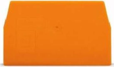 WAGO Kontakttechnik Trennwand 2mm orange 870-949