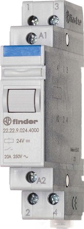 Finder Installationsrelais 2S 20A 12VDC 22.22.9.012.4000