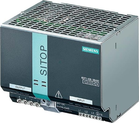 Siemens Indus.Sector Sitop Modular 3400VAC 24VDC 20A 6EP1436-3BA