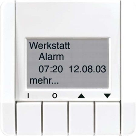 Jung KNX Info-Display lgr für Busankoppler CD 2041 LG