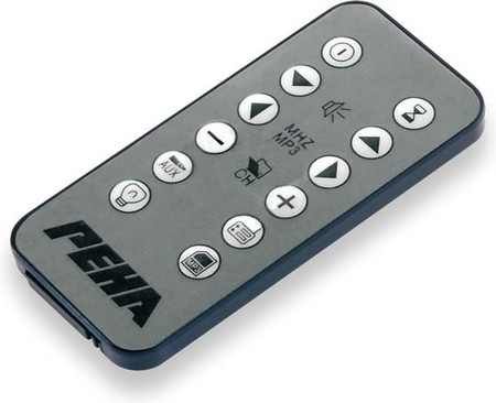 Peha IR-Fernbedienung für Audio-Point D 871 IR MP3