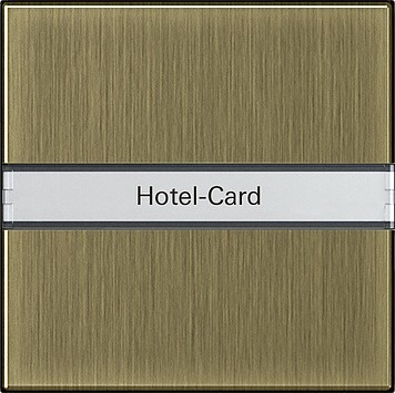 Gira Hotel-Card-Taster BSF brz BSF System 55 0140603