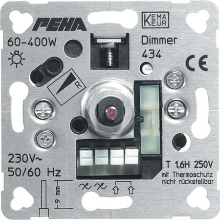 Peha Phasenanschnittdimmer 60-400W D 434 o.A.