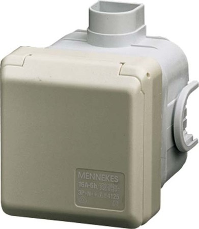 Mennekes UP-Dose Cepex 16A,5p,6h,400V,IP44 4125