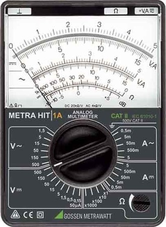 GMC-I Messtechnik Analog-Multimeter METRAHit 1A