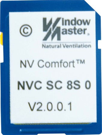 WindowMaster NV Comfort Softwarekarte 8 Zonen Standard NVC SC 8S