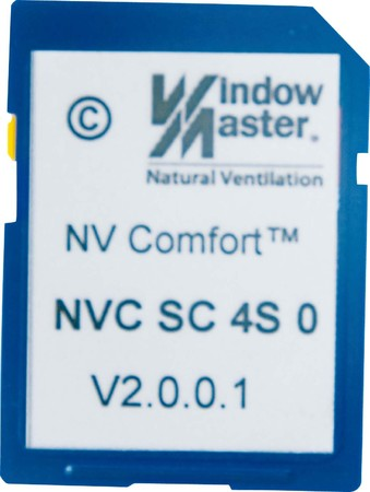 WindowMaster NV Comfort Softwarekarte 4 Zonen Standard NVC SC 4S