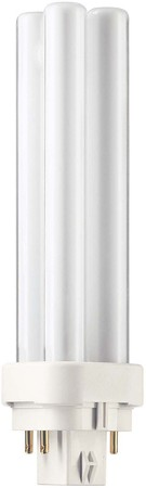 Philips Lampen Kompaktleuchtstofflampe 13W G24q-1 wws PL-C 13W/8