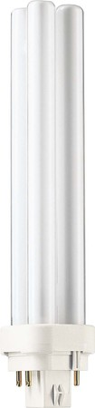 Philips Lampen Kompaktleuchtstofflampe 26W G24q-3 wws PL-C 26W/8