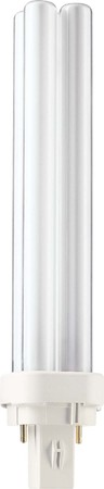 Philips Lampen Kompaktleuchtstofflampe PL-C XTRA 26W 840 2P