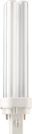 Philips Lampen Kompaktleuchtstofflampe PL-C XTRA 18W 830 2P