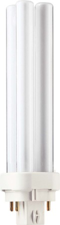Philips Lampen Kompaktleuchtstofflampe PL-C XTRA 18W 840 4P