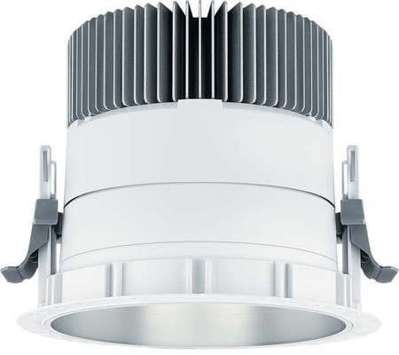 Zumtobel Licht LED-Downlight E150HM 22W 927-6 DB PANOS INF #6081