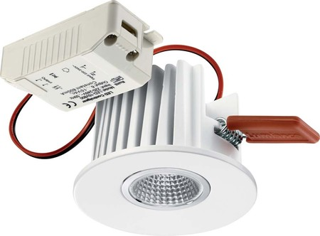 Scharnberger+Has. LED-Downlight D=78mm,EB D=68mm 53030