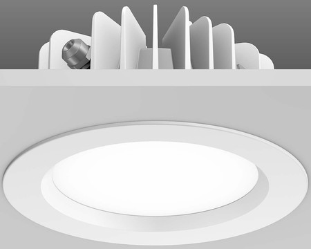 RZB Zimmermann LED-Einbaudownlight 25,7W 3000K 107Gr 901434.002
