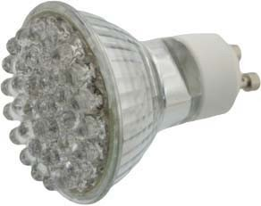 Scharnberger+Has. LED-Spot 230V 2,6W GU10 grün 37185