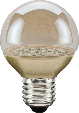 Scharnberger+Has. LED-Globelampe 230V 2,3W E27 gold 39341