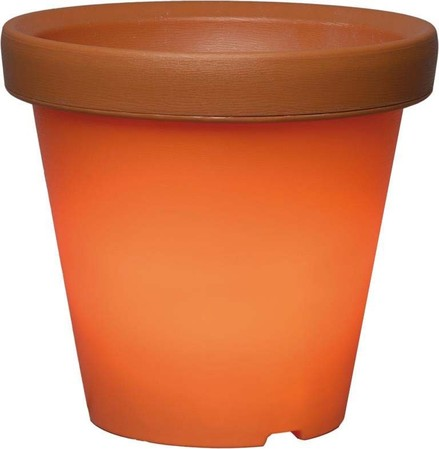 Scharnberger+Has. LED-Topf terracotta 36cm 3,3W 24V-System 88719