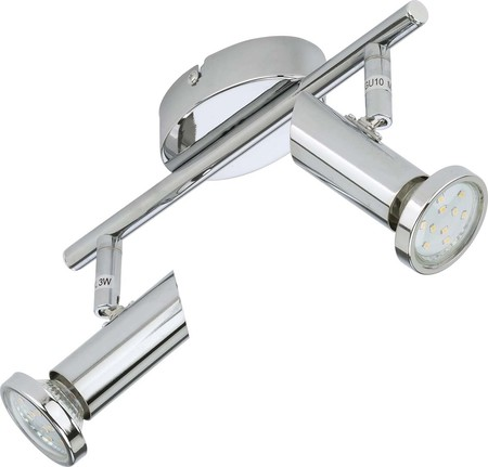 Briloner LED-Schiene incl.2xGU10 LED 2,3W 2000-028