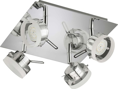 Briloner LED-Rondell 4flg. 4x5 Watt chrom 2807-048