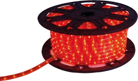 Scharnberger+Has. LED-Lichtschlauch Rope Light 230V rot 58060