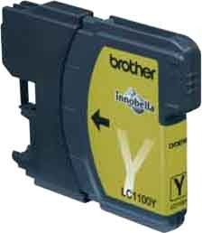 Brother LC LC1100Y - Tintenpatrone Original - 7,5 ml